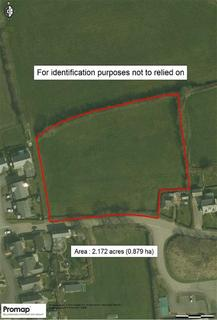Land for sale - Meadow Park, Shebbear, Beaworthy, Devon, EX21