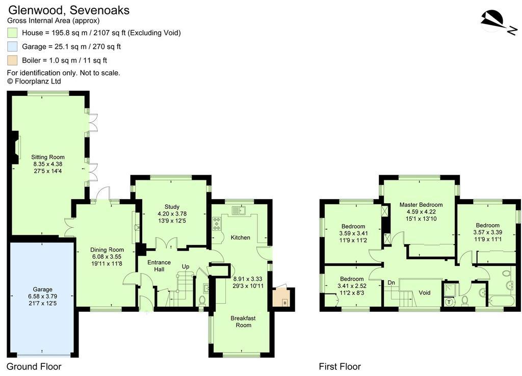 Montreal Road Sevenoaks Kent TN13 4 bed detached house 1395000 – Knole House Floor Plan