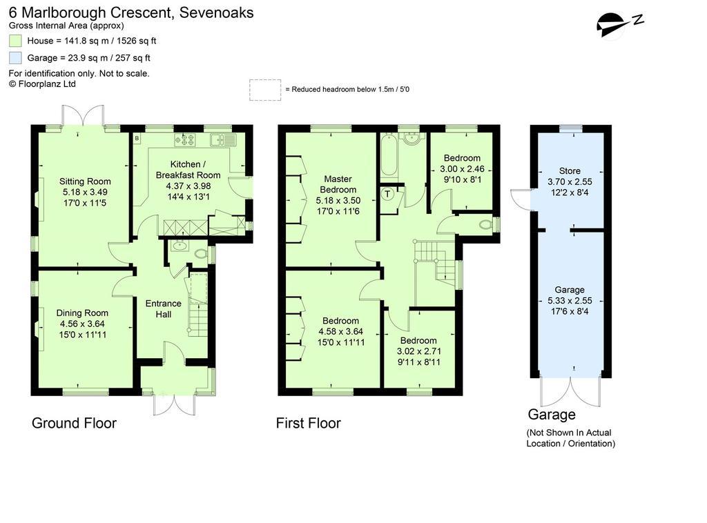 Marlborough Crescent Sevenoaks Kent TN13 4 bed detached house for – Knole House Floor Plan