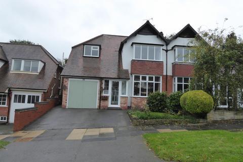 4 bedroom semi-detached house for sale - Ellesboro Road, Harborne, Birmingham, B17 8PU