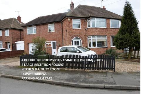 5 bedroom semi-detached house for sale - Horndean Avenue, Wigston Leicestershire.