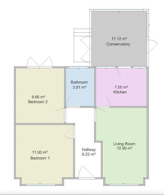 Floorplan: Layout of Property