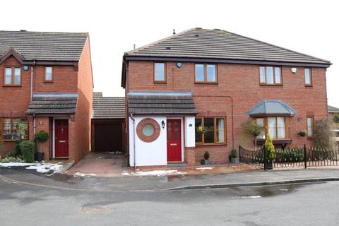 3 bedroom semi-detached house for sale - Enderby Close, Bentley Heath