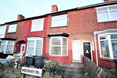 3 bedroom terraced house to rent - Westbury Road, Edgbaston, Birmingham, B17