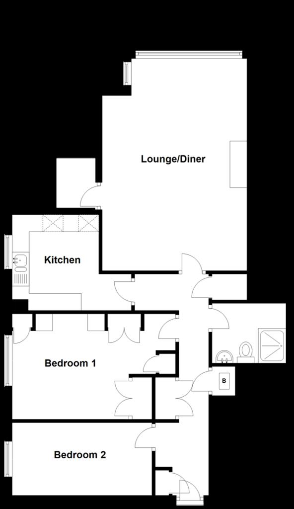 Floorplan: Seventh Floor