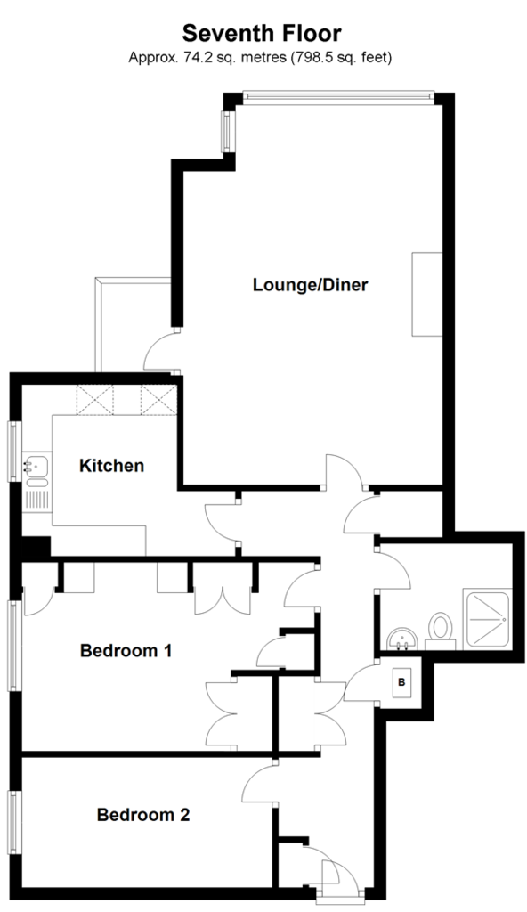 Floorplan: Seventh Floor
