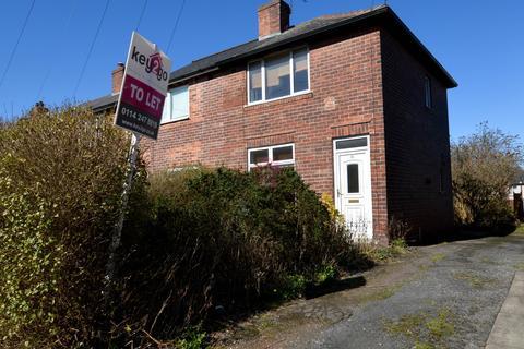 2 bedroom end of terrace house to rent - Alder Lane, Sheffield, S9