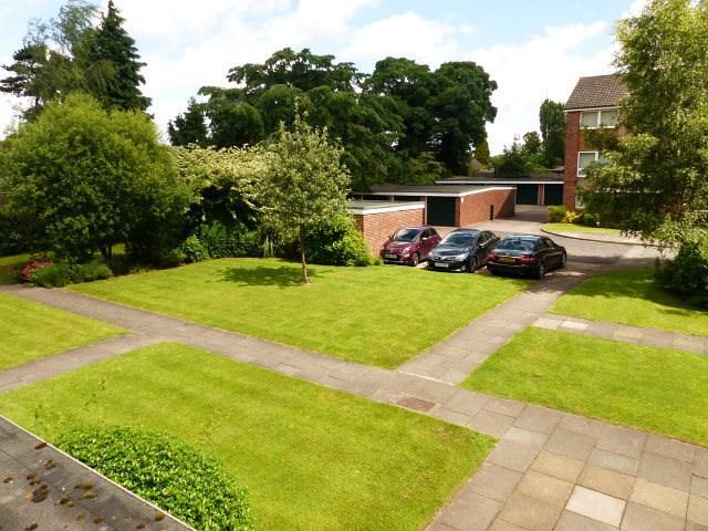 Gardens and garage