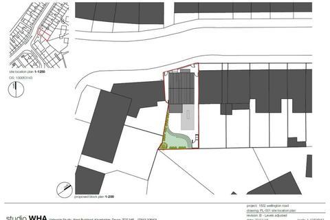 Plot for sale - Wellington Road, St Thomas, EX2
