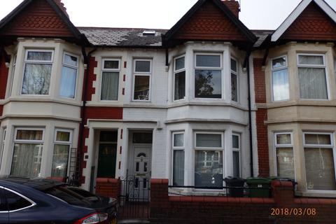 4 bedroom terraced house to rent - New Zealand Road, Cardiff CF14