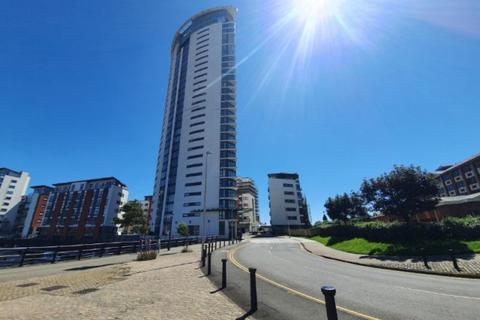 1 bedroom apartment to rent - Meridian Tower, Trawler Road, Marina SA1 1JN
