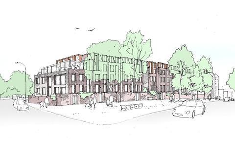 Land for sale - Heath Street, London, NW3
