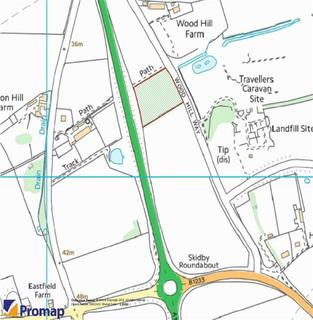Land to rent - Wood Hill Way, Skidby, East Yorkshire