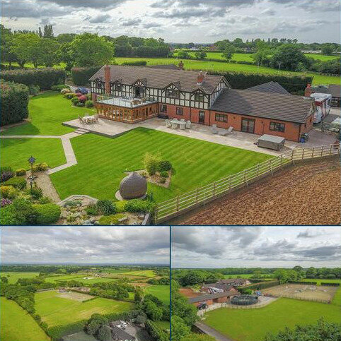 6 bedroom detached house for sale - Over Road, Church Minshull