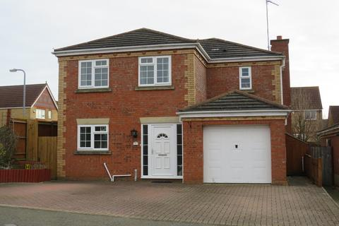 4 bedroom detached house for sale - Cross Waters Close, Wootton, Northampton, NN4