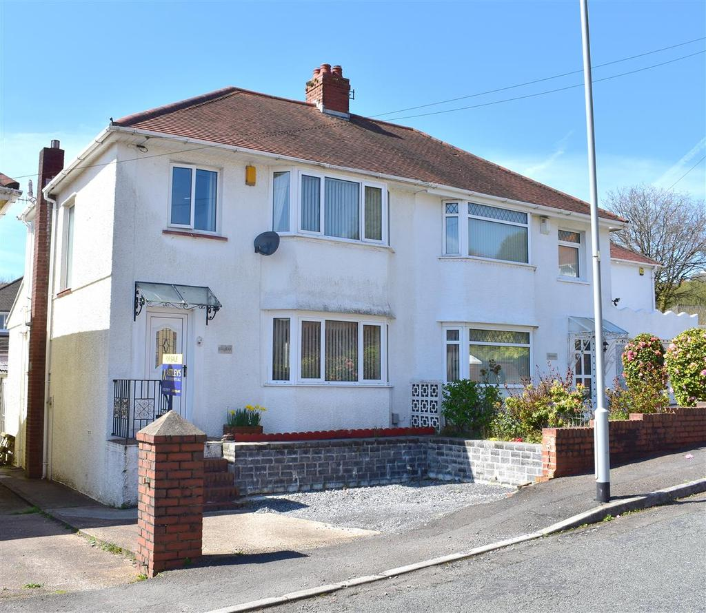 Peniel Road, Treboeth, Swansea 3 bed semi-detached house for sale ...