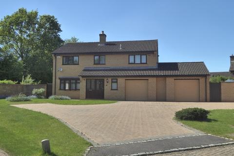 4 bedroom detached house for sale - Hudson Drive, West Hunsbury, Northampton, NN4