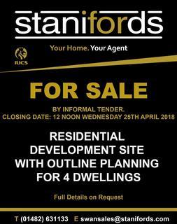 Plot for sale - Riplingham Road, Kirk Ella, East Yorkshire