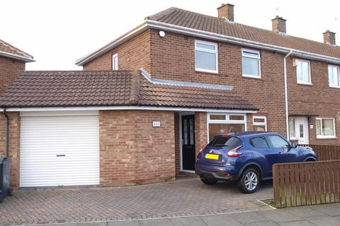 3 bedroom end of terrace house for sale - Fern Drive, Cramlington