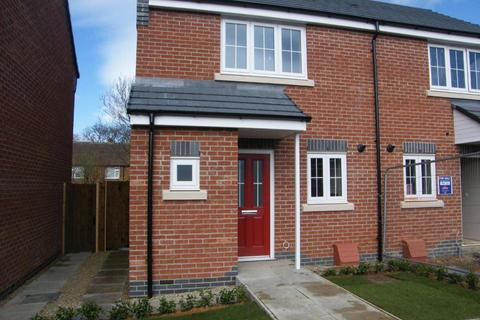 2 bedroom semi-detached house to rent - Bushloe Gardens, Wigston, LE18 2DN
