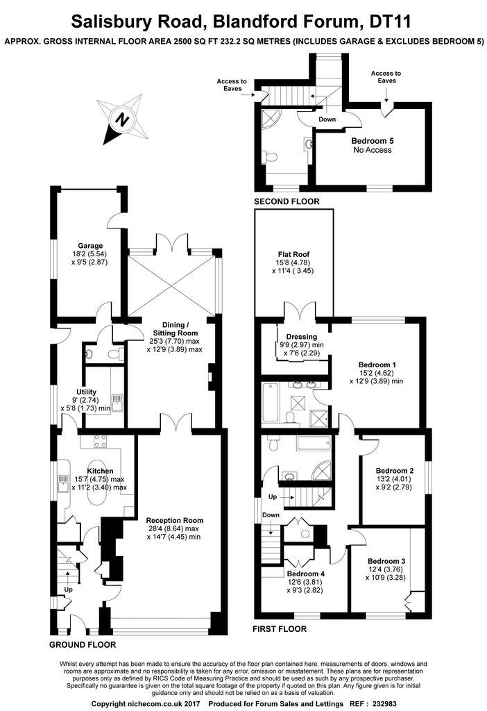 Salisbury road blandford forum 5 bed detached house for for Blandford homes floor plans