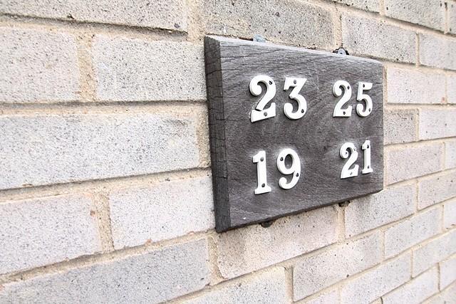 Number door