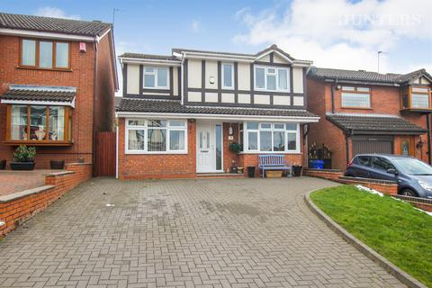 4 bedroom detached house for sale - Appledore Grove, Stoke-on-Trent, Packmoor, ST6 6XH