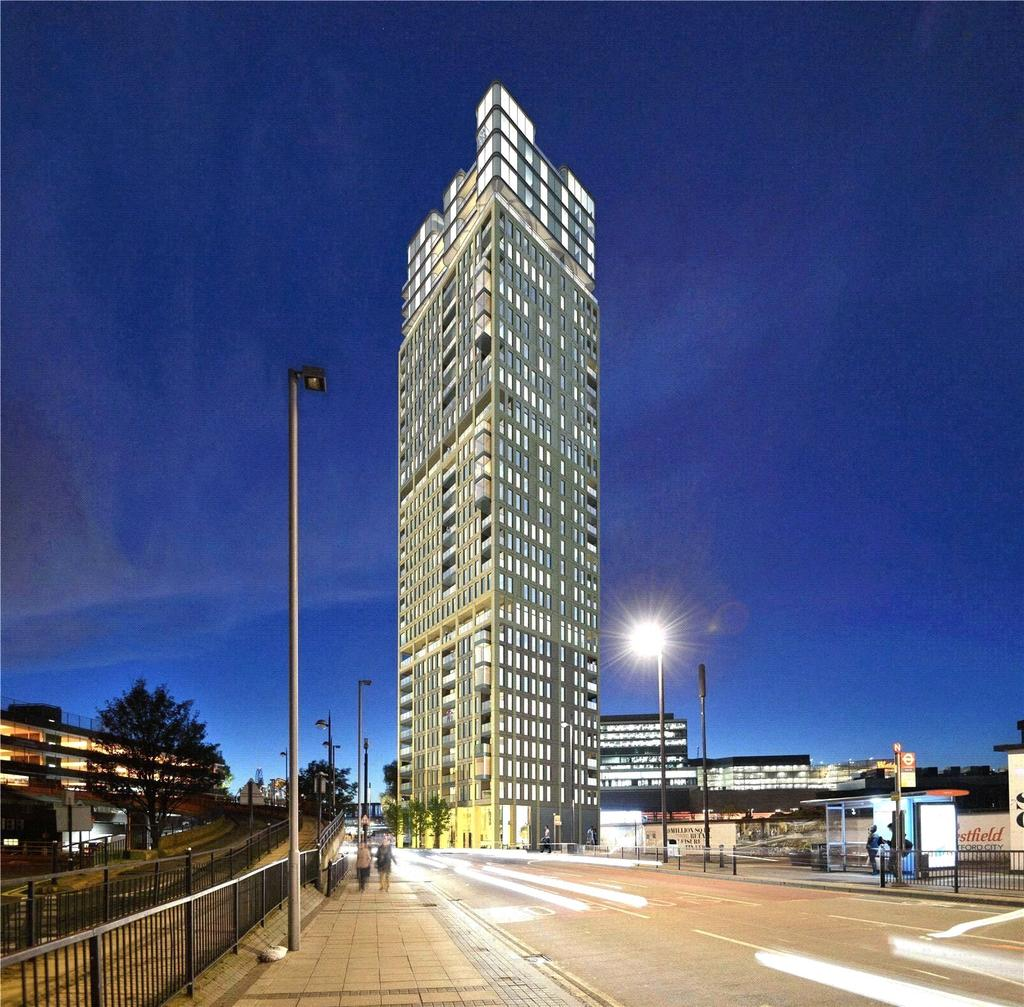 The Stratford Apartments: Stratford Central, Stratford City, London, E15 3 Bed Flat