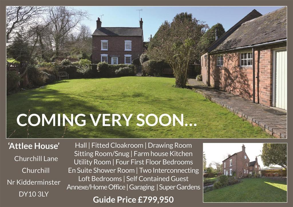 Properties For Sale Churchill Kidderminster