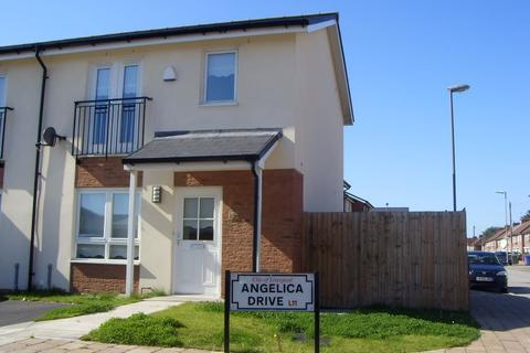 2 bedroom end of terrace house to rent - Angelica Drive, Liverpool, Merseyside, L11