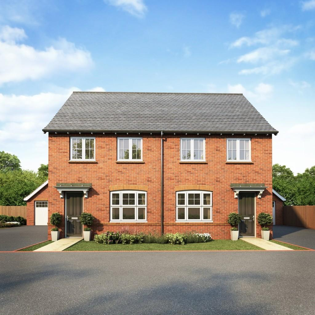 The Mulberries By Redrow, Witham 3 Bed Semi-detached House
