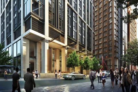 1 bedroom flat for sale - AYKON LONDON ONE, NINE ELMS, SW8