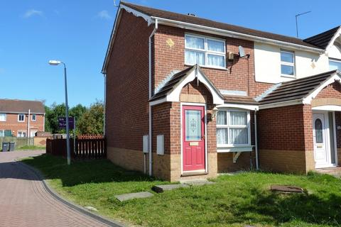 2 bedroom semi-detached house to rent - Foxglove Close, North Hull