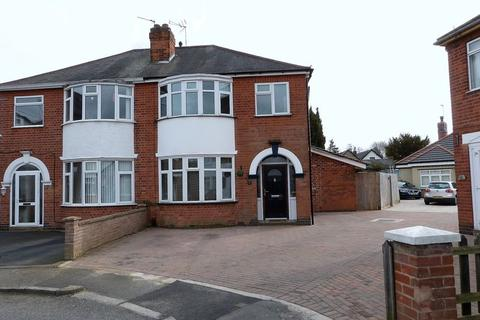 3 bedroom semi-detached house for sale - Kew Drive, Wigston, Leicestershire
