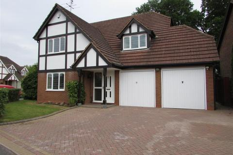4 bedroom detached house to rent - Manor Road, Dorridge, Solihull, B93 8HZ