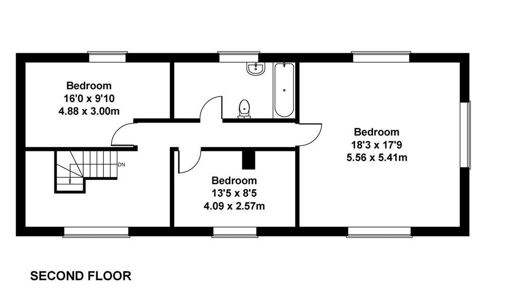 Floorplan 4 of 4: Second Floor
