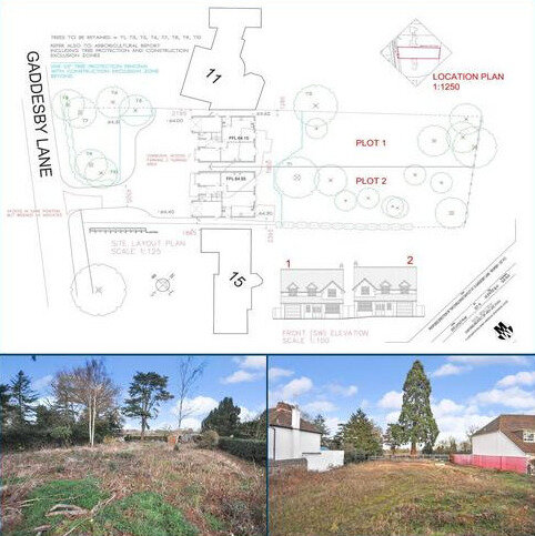 Land for sale - Gaddesby Lane, Rearsby, Leicestershire