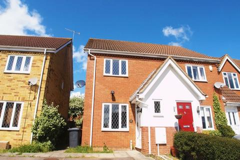 2 bedroom end of terrace house to rent - Wiseman Close, Luton