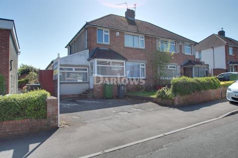 3 bedroom semi-detached house for sale - Elgar Crescent, Llanrumney,Cardiff