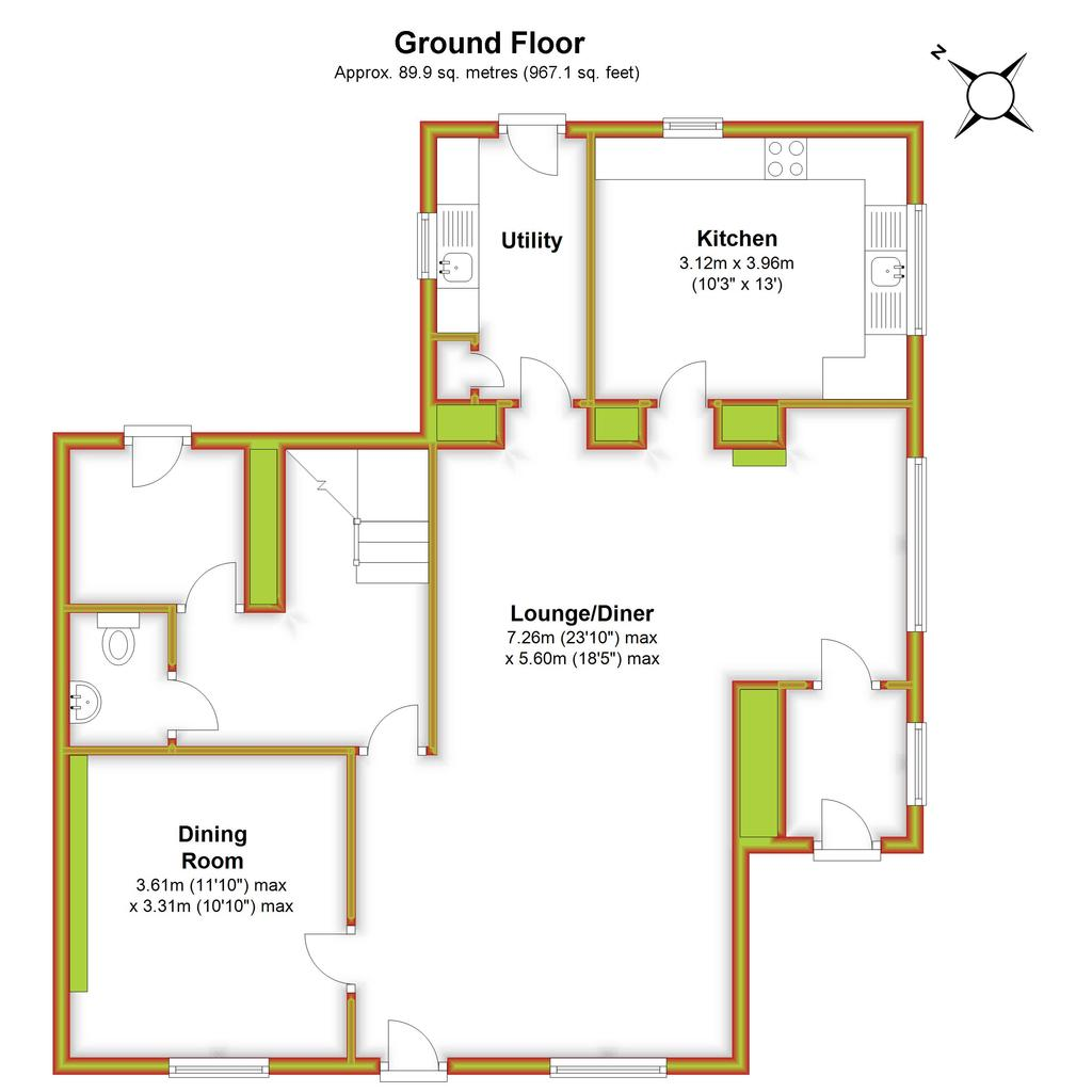 Floorplan 1 of 3: Beech Tree House,