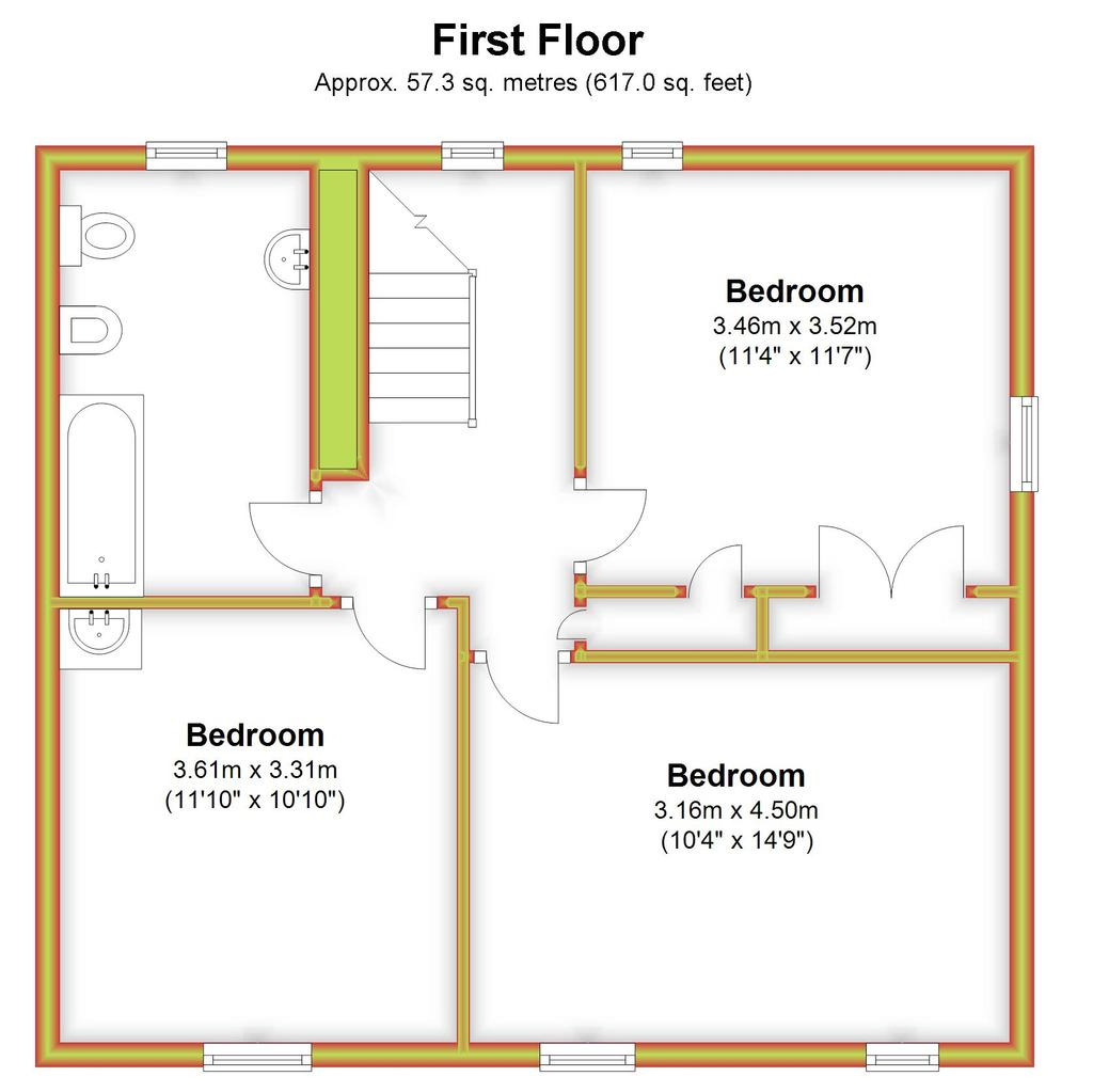 Floorplan 2 of 3: Beech Tree House,