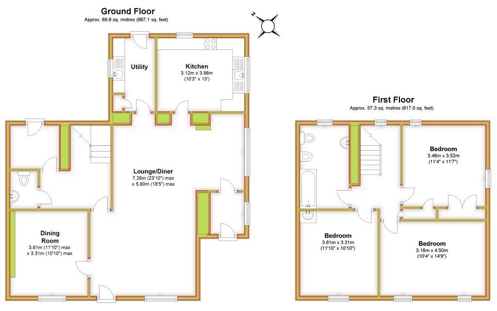Floorplan 3 of 3: Beech Tree House,