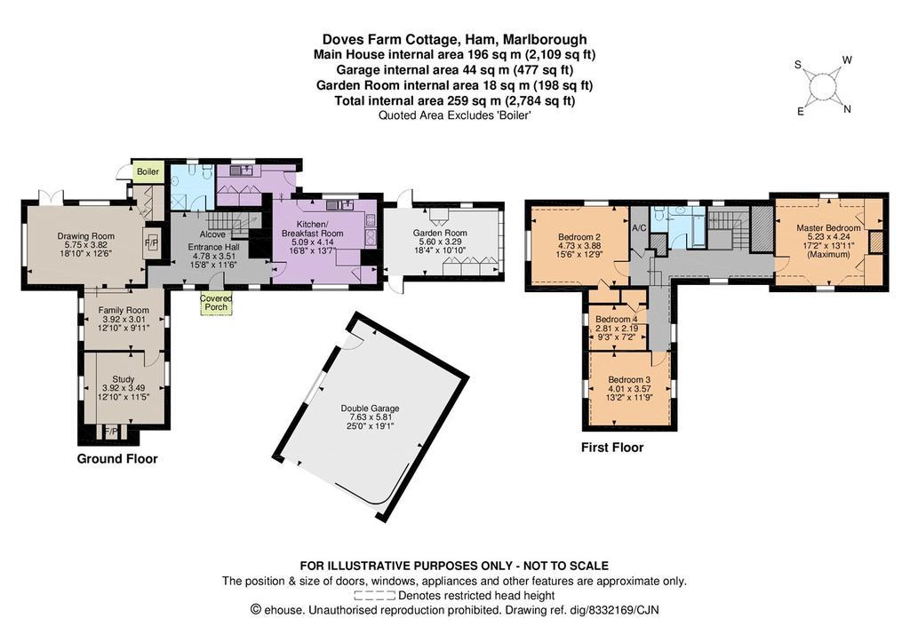 Ham Marlborough Wiltshire 4 bed detached house 1250000 – Marlborough House Floor Plan