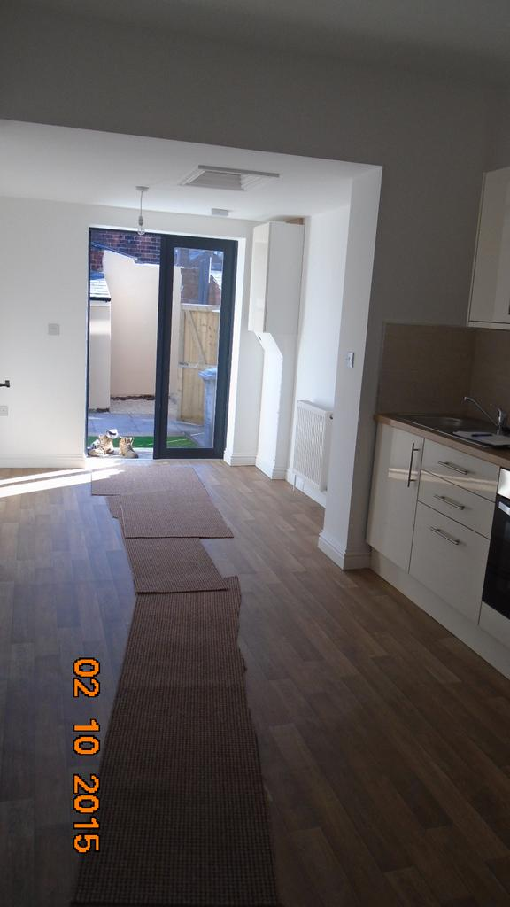 Modernised 3 bed end terraced house for rent in Hoyland, Barnsley