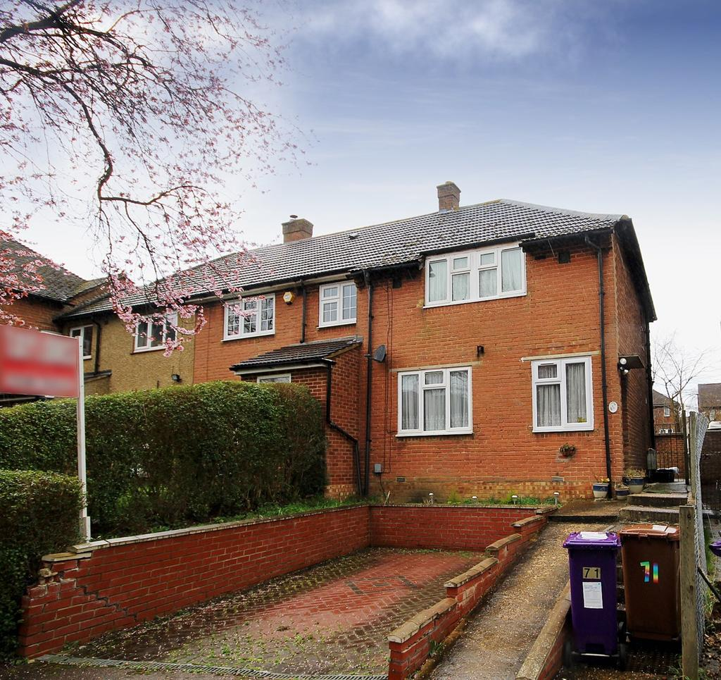 Hall Mead, Letchworth Garden City, SG6 3 bed end of terrace house ...