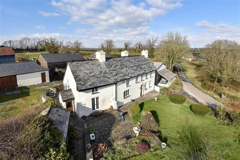 6 bedroom property with land for sale - St Giles on the Heath, Launceston, Cornwall, PL15
