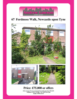 3 bedroom end of terrace house for sale - Fordmoss Walk, Newcastle upon Tyne NE5
