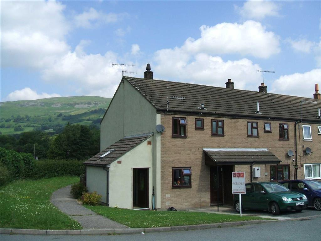 3 Bedrooms Semi Detached House for sale in 19, Dolafon, Penybontfawr, Powys, SY10