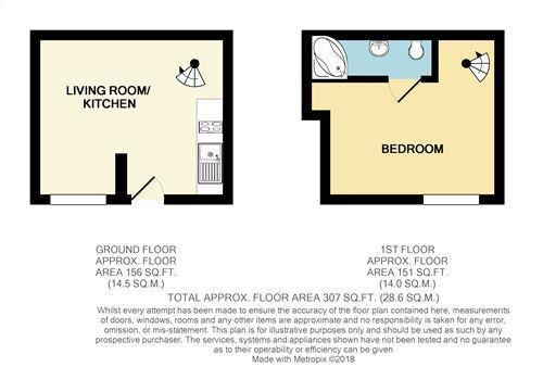 Floorplan: Seashell Cottage Croyde web.JPG