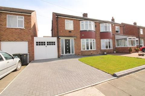 3 bedroom semi-detached house for sale - Blanchland Avenue, Wideopen, Newcastle Upon Tyne